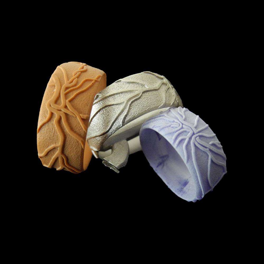 Retina-Ringe-wachs-Guss-individuell-handgefertigt-basel-goldschmiede